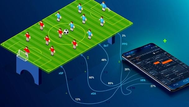 Ilustración de estrategia de apuestas móviles